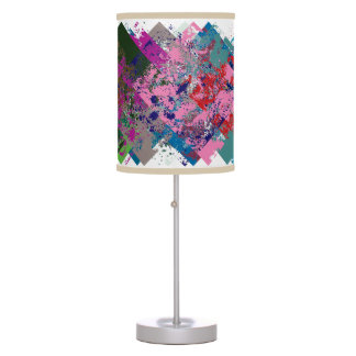 D Catch 52 Color Extravaganza Whirly Shuffle Table Lamps