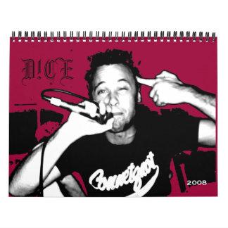 D!CE 2008 Calendar