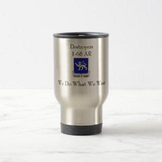 D Co 1-68 AR Travel Mug