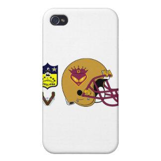 D Crownholder 2012 Helmet iPhone 4 Case