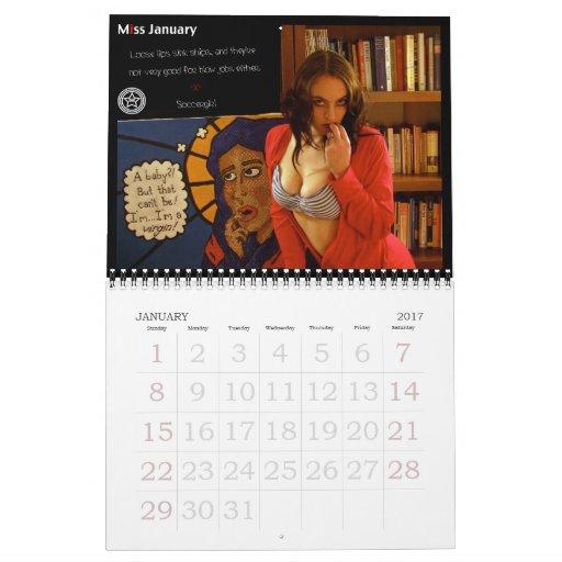 D&D pinup calendar