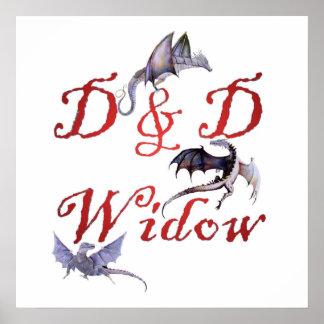 D & D Widow Poster