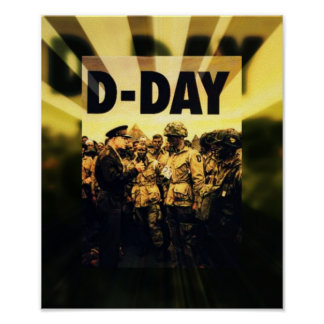 D-Day 65th Anniversary June 6, 2009 Poster