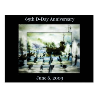 D-Day 65th Anniversary Postcard