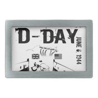 D-DAY 6th June 1944 Belt Buckle