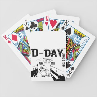 D-DAY 6th June 1944 Bicycle Playing Cards