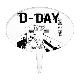 D-DAY 6th June 1944 Cake Topper