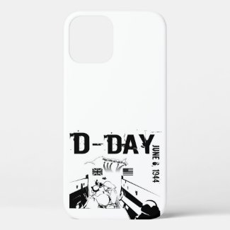 D-DAY 6th June 1944 iPhone 12 Case