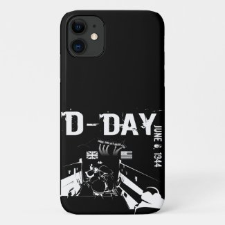 D-DAY 6th June 1944 iPhone 11 Case