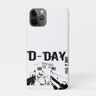D-DAY 6th June 1944 iPhone 11 Pro Case