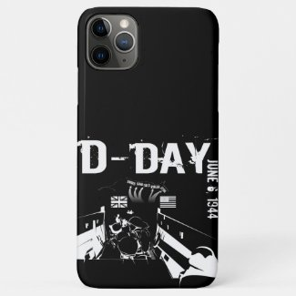 D-DAY 6th June 1944 iPhone 11 Pro Max Case