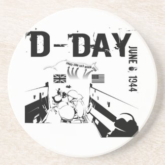 D-DAY 6th June 1944 Coaster