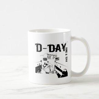 D-DAY 6th June 1944 Coffee Mug