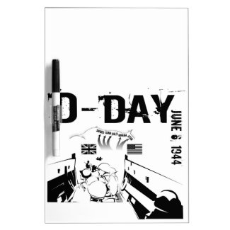 D-DAY 6th June 1944 Dry-Erase Board