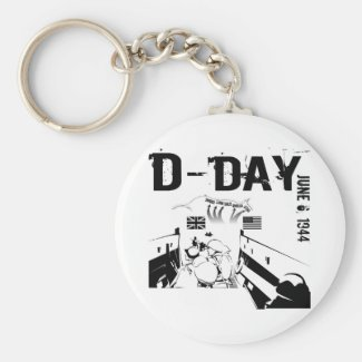 D-DAY 6th June 1944 Keychain