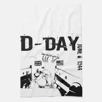 D-DAY 6th June 1944 Kitchen Towel