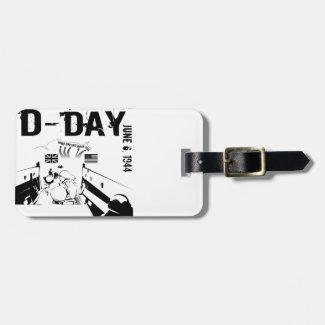 D-DAY 6th June 1944 Luggage Tag