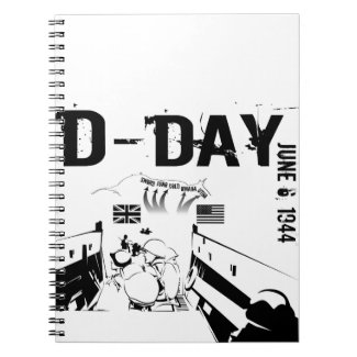 D-DAY 6th June 1944 Notebook