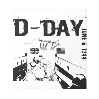 D-DAY 6th June 1944 Notepad