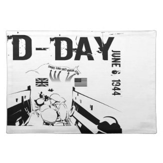 D-DAY 6th June 1944 Placemat