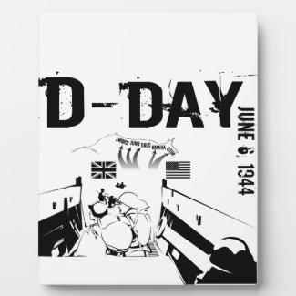 D-DAY 6th June 1944 Plaque