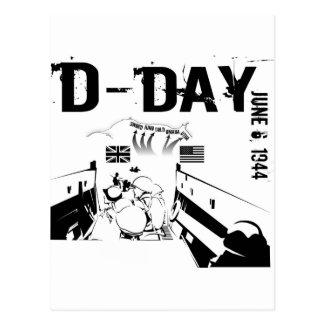 D-DAY 6th June 1944 Postcard
