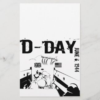 D-DAY 6th June 1944 Stationery