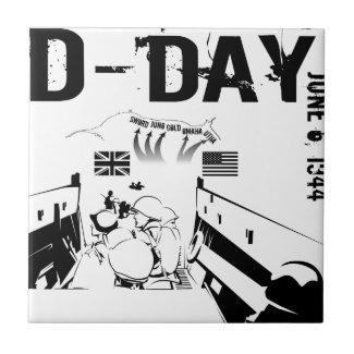 D-DAY 6th June 1944 Tile