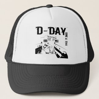 D-DAY 6th June 1944 Trucker Hat