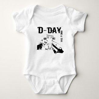 D-DAY 6th Juni 1944 Baby Bodysuit
