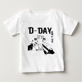 D-DAY 6th Juni 1944 Baby T-Shirt
