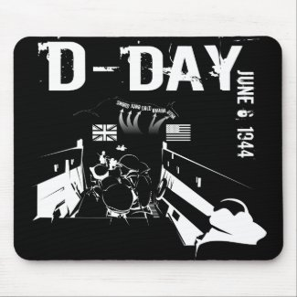 D-DAY 6th Juni 1944 Mouse Pad