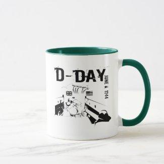 D-DAY 6th Juni 1944 Mug
