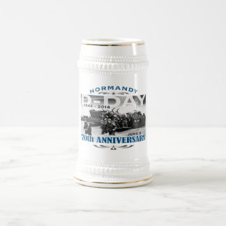 D-Day 70th Anniversary Battle of Normandy Beer Stein