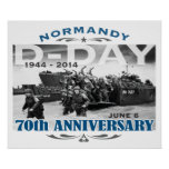 D-Day 70th Anniversary Battle of Normandy Posters