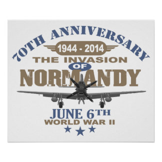 D-Day 70th Anniversary Battle of Normandy Print