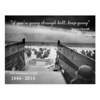 D-Day 70th Anniversary postcard