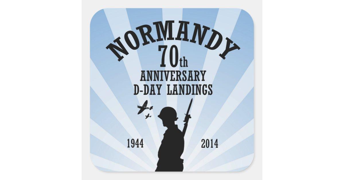 D Day 70th Anniversary Stickers Zazzle Com