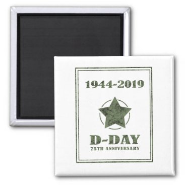 D-Day 75th Anniversary Magnet