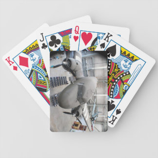 D day Airplane History Playing Cards