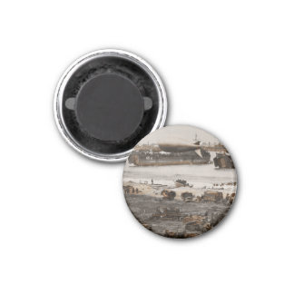 D-Day Assembling Area Magnet