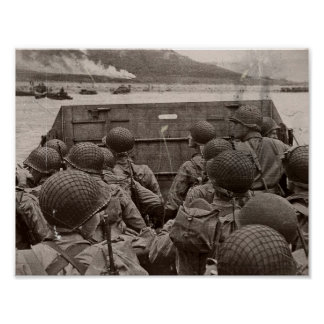 D-Day Assorted Images Poster