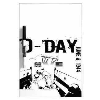 D-DAY Dry-Erase BOARD