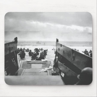 D-Day Landing Painting Mouse Pads
