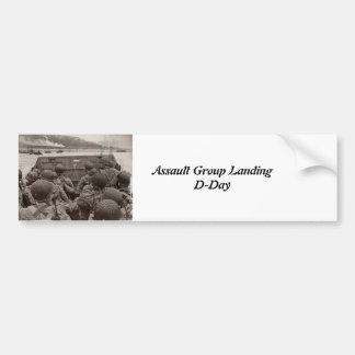 D-Day Landings Assorted Images Bumper Sticker