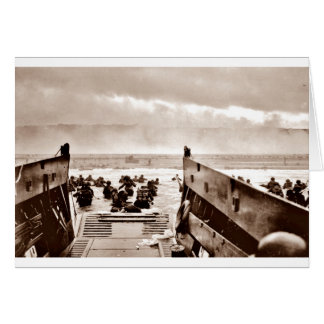 D-Day Landings Assorted Images Card