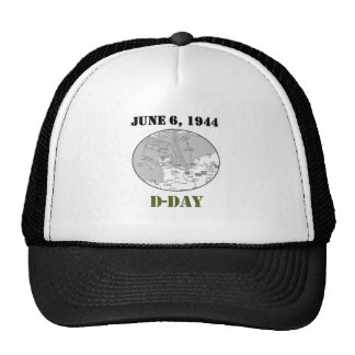 D-Day Map Trucker Hat