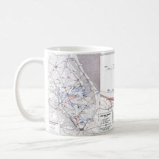 D-Day maps mug