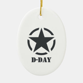 D-Day Normandy - Day-J - Normandy Ceramic Ornament