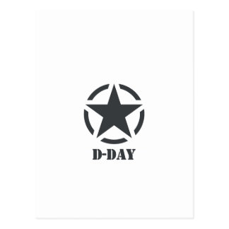 D-Day Normandy - Day-J - Normandy Postcard